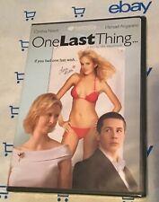 One Last Thing (DVD, 2006) Brand New! Cynthia Nixon   Michael Angarano