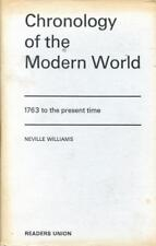 CHRONOLOGY OF THE MODERN WORLD 1763 to the Present Time (1967 Hardcover) History