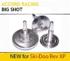 "Pair - Yamaha RD6708 8/"" Double Down Snowmobile Ski Carbides"