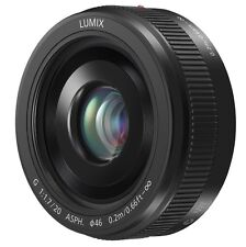Panasonic Lumix G 20mm F1.7 II ASPH Micro 4/3 Lens (Black) *NEW*