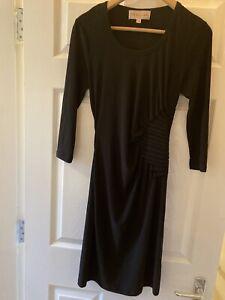 Philosophy Black Jersey Dress Size Small