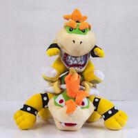 2pcs Super Mario Bros. King Bowser Koopa and Jr. Koopa Soft Plush Dolls Xmas