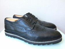 Men's Rogue Black Leather Oxford Shoes size 10