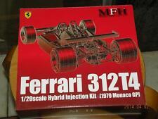 MODEL FACTORY HIRO MFH 1/20 F1 FERRARI 312T4 HYBIRD VER. MONACO & BELGIAN GP KIT