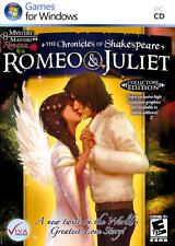 CHRONICLES OF SHAKESPEARE ROMEO & JULIET   PC Game  Puzzle Solving 2013, PAL and
