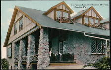 READING PA Mount Penn Kuechlers Roost Antique Postcard Early Vtg Mt Hermit PC