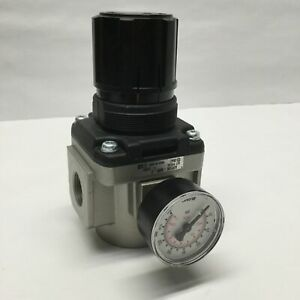 "SMC AR50K-N06-Z Regulator AR Mass Pro w/ Backflow Function, 3/4"" NPT, 7-125psi"
