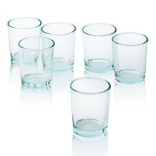 Clear Glass Round Votive Candle  Holders Set of 72