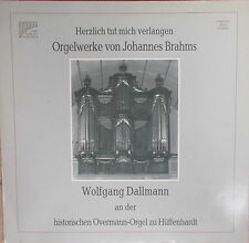 J.Brahms - Herzlich tut mich verlangen,W. Dallmann,Historische Orgel Hüffenhard