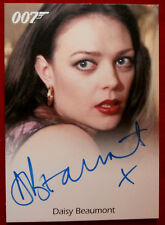 JAMES BOND - The World Is Not Enough - DAISY BEAUMONT, as Nina - Autograph Card