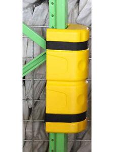 Regalschutz Pfostenschutz Schutz für Regalstreben bis 10cm Rammschutz Kunststoff