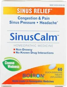Sinus Calm by Boiron, 60 tablet