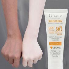 Face Body Sunscreen Whitening Sunblock Skin Protective Cream Moisturizing SPF 90