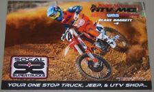 2018 Blake Baggett KTM 450 SX-F Supercross Motocross postcard
