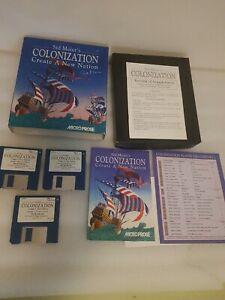 Sid Meires Colonization Amiga Game