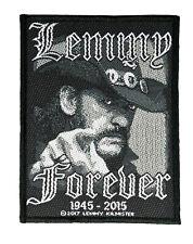 Lemmy Forever Aufnäher Motörhead Lemmy Patch Gewebt & Lizenziert !! SP2908