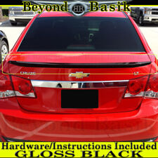 2010 2011 2012 2013 2014 2015 Chevy Cruze Factory Style Lip Spoiler Gloss Black Fits More Than One Vehicle