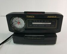 Vintage Timex Indiglo FM/AM Alarm Clock Radio Nite Light TX282B Original TESTED