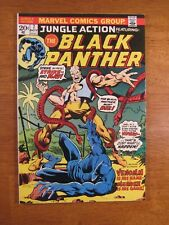 JUNGLE ACTION/BLACK PANTHER #7 Key Bk! (VF+) Super Bright, Colorful & Glossy!