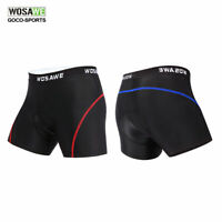 Men's Cycling Inner Shorts Bike Silicone Padded Underwear Breathable Shorts