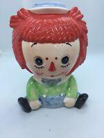 VINTAGE Lefton Raggedy Andy Figurine Planter, #6921