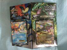 Pokemon RAYQUAZA VS KELDEO BATTLE ARENA Pack-Two 60 card decks 2 Promo Foil Card