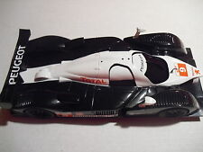 lote  kk SCALEXTRIC PEUGEOT 908 HDIFAR Le Mans series  used