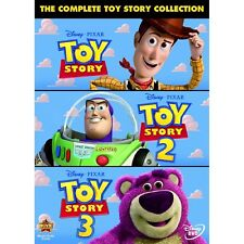 THE COMPLETE TOY STORY COLLECTION 1-3 DVD UK Movie Trilogy Triplle NEW Film R2