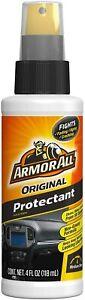 Armor All Original Protectant & Tire Foam Protectant 4oz (Lot of 4)
