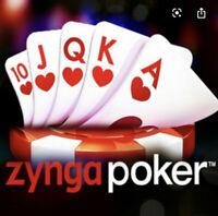 Zynga Poker Chips 55 B