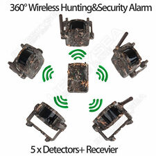 Wireless PIR Intelligent Home Security House Farm Alarm System For Hunting A28R