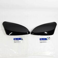 Side Mirror Cover Garnish Left Right 2EA Black For HYUNDAI ELANTRA MD 2011-2014