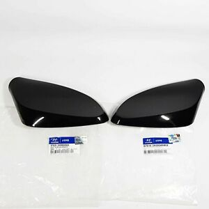 Side Mirror Cover Garnish Black Left Right 2EA For HYUNDAI ELANTRA MD 2011-2014