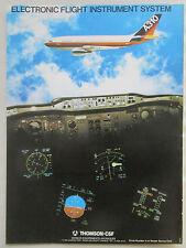 5/80 PUB THOMSON CSF AVIONIC AIRBUS A310 ELECTRONIC FLIGHT INSTRUMENT SYSTEM AD