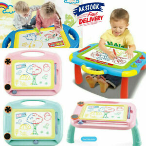 UK Kids Drawing Board Writing Sketch Pad Erasable Magna Doodle Toy Xmas Gifts