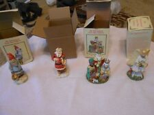 Lot Of 4 - The International Santa Claus Collection / Santa Figures