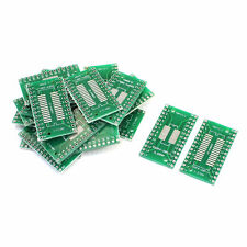 20Pcs SOP28 SSOP28 TSSOP28 to DIP28 0.65/1.27mm PCB Adapter Socket Board