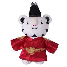 Winter Olympics 2018 Pyeongchang Korea Soohorang Mascot Hanbok Doll KING New