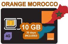 MOROCCO INTERNET 10GB + CALLS / SIM CARD for MOROCCO