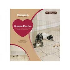 Rosewood Hexagon Dog Play Pen Training