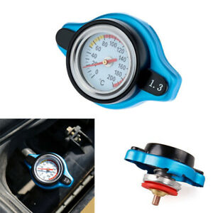 1.3 Bar Auto Car Thermostatic Radiator Cap Cover with Water Temperature Gauge