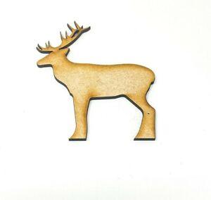 Reindeer Christmas Shape 20cm-40cm  Decor Festive Decoration Craft Kids Xmas