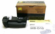 Genuine Nikon MB-D10 Grip Batterie pour D700, D300s, D300 Boxed Exc + +