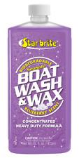 STARBRITE Bateau LAVE & CIRE nettoyant. 455ML bouteille. Nettoie, brille &