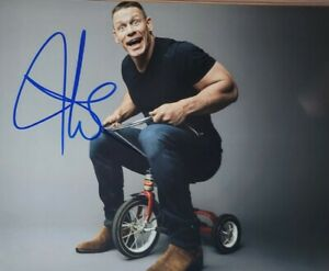 John Cena Authentic Autographed 8x10 Photo w/ COA