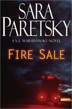 A V. I. Warshawski Novel: Fire Sale by Sara Paretsky (2005, Hardcover)