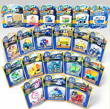 4ea Pick X Robocar POLI DieCasting series only 4 ea /Korean animation Toy Figure