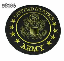 UNITED STATES ARMY Iron on Center Patch for Biker Vest CP186