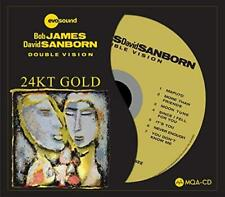Bob James And David Sanborn - Double Vision (24KT Gold) (NEW CD)