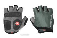 Castelli ENTRATA Summer Cycling Gloves : FOREST GREY